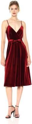 Ali & Jay Women's Velvet Underground Wrap Midi Dress