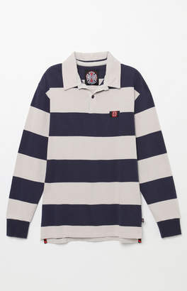 Independent Scrum Stripe Long Sleeve Rugby Shirt
