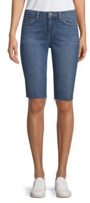 L'Agence Pismo Bermuda Denim Shorts