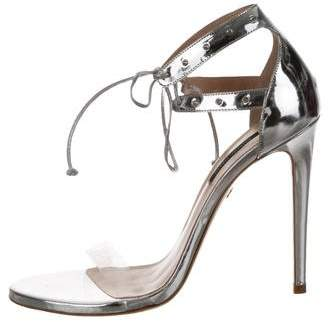 Ruthie Davis Leather Ankle Strap Sandals