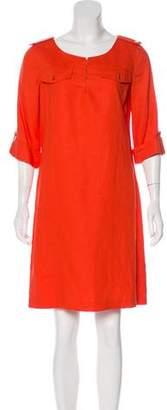 Tory Burch Linen Knee-Length Dress