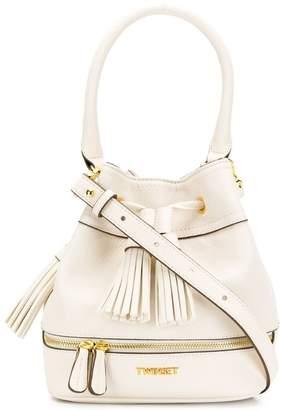 Twin-Set bucket tassel bag
