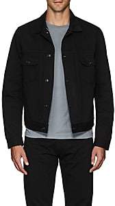 Eidos Men's Classic Denim Jacket - Black