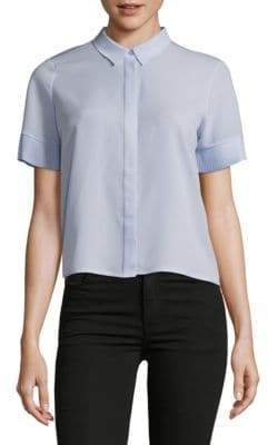 French Connection Point Collar Button-Down Shirt