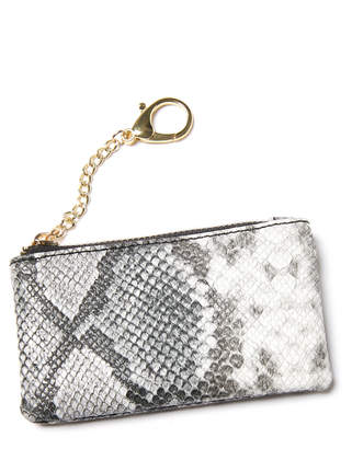 Kaé Jules Snakeskin Card Holder