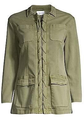 Current/Elliott Women's The Laced Jacket