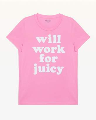 Juicy Couture Will Work for Juicy Tee