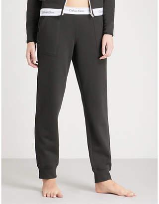 Calvin Klein Modern Cotton cotton-jersey jogging bottoms