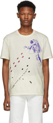 Raf Simons White Slim Fit Astronaut T-Shirt