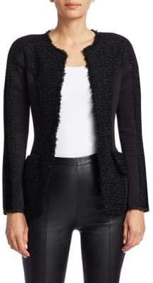 Alexander Wang Scuba Tweed Jacket