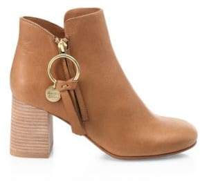 See by Chloe Louise Leather Booties
