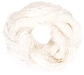 Jocelyn Knitted Fur Scarf
