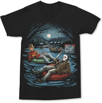 Freddy and Jason Lake Men's T-Shirt by Changes