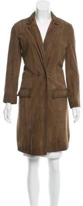 Giada Forte Suede Long Coat