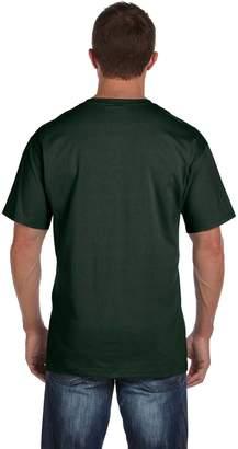 Fruit of the Loom Adult 5 oz HD Cotton Pocket T-Shirt - XL - (Style # 3931P - Original Label)