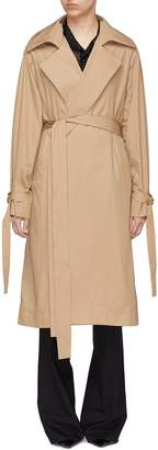 J.Cricket 'Trapez' sash cuff epaulette belted trench coat