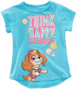 Nickelodeon Paw Patrol Toddler Girls Think Happy T-Shirt