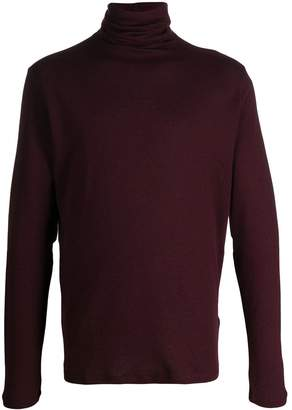 Majestic Filatures slim-fit roll-neck jumper