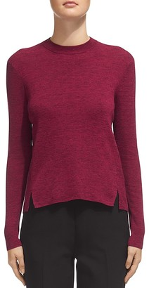 Whistles Notched-Hem Knit Top $180 thestylecure.com