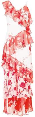 Alice + Olivia Alice+Olivia floral-print ruffled maxi dress