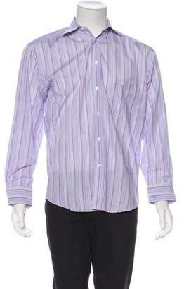 Canali Striped Dress Shirt