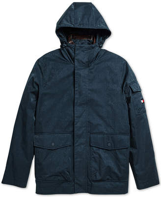 Tommy Hilfiger Adaptive Men Traveler Coat with Magnetic Zipper