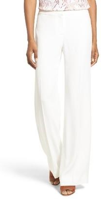 Women's Classiques Entier Italian Crepe Trousers $229 thestylecure.com