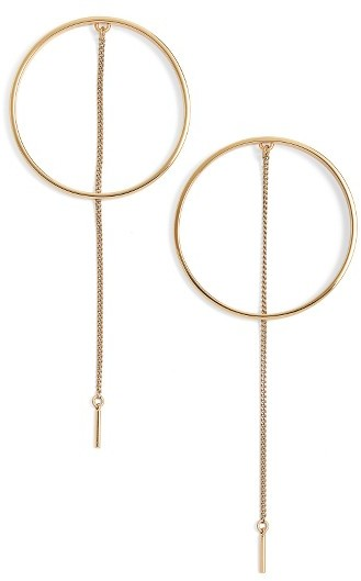 Women's Jenny Bird Rhine Frontal Hoop Earrings