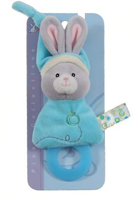 Gipsy Pomme 070168 Soft Toy/Teething Ring Rabbit 17 cm Turquoise