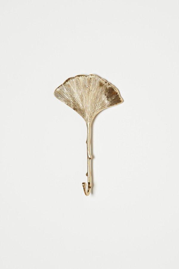 Anthropologie Gingko Leaf Hook