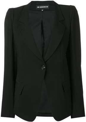 Ann Demeulemeester tailored blazer jacket