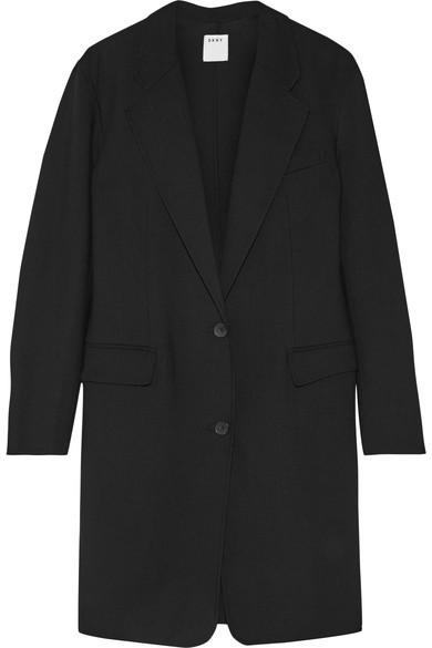 DKNYDKNY - Stretch Wool-twill Coat - Black