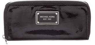 MICHAEL Michael Kors Patent Leather Continental Wallet