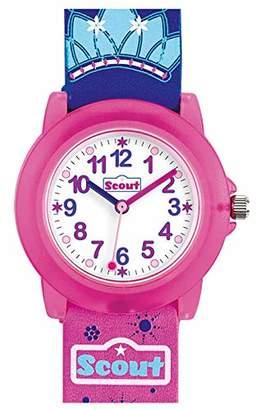 Scout Girls' Analogue Quartz Watch with PU Strap 280305027