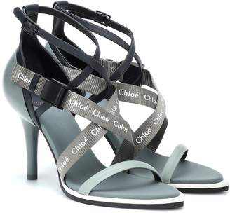 Chloé Veronica leather sandals