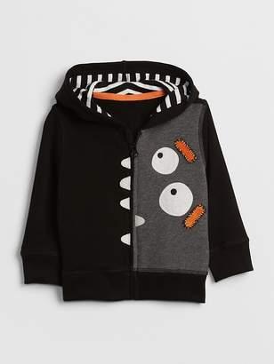 Gap Monster Graphic Hoodie Sweatshirt