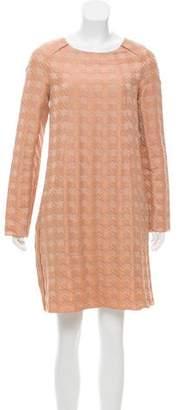Marni Jacquard Houndstooth Dress