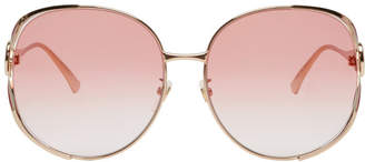 Gucci Pink Urban Fork Sunglasses