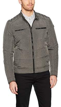BOSS ORANGE Men's Oennis Moto Jacket