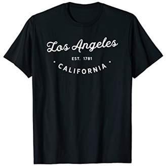 Classic Retro Vintage Los Angeles California LA Tshirt