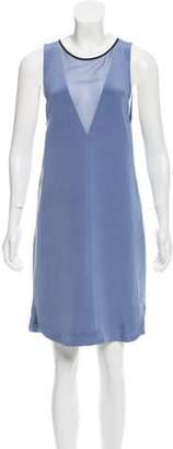 Rebecca Taylor Sleeveless Silk Dress
