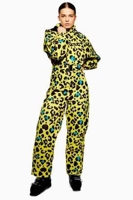 Topshop Womens **Leopard Print Snow Suit by SNO