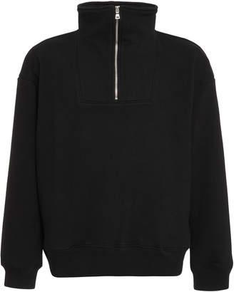Simon Miller Jutland Half-Zip Cotton Sweater