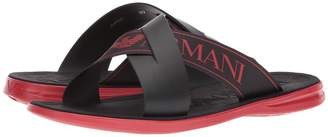 Emporio Armani Crisscross Sandal