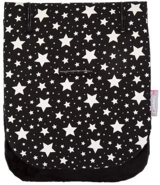 Cuddleco CuddleCo Comfi-Cush Memory Foam Stroller Liner Black and White Stars