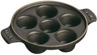 Staub Cast Iron 6-Cavity Escargot Pan