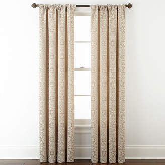 Royal Velvet Josie Accessories Giovanna Rod-Pocket/Back-Tab Curtain Panel