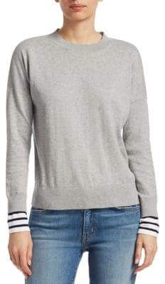 Derek Lam 10 Crosby Striped Cashmere Sweater