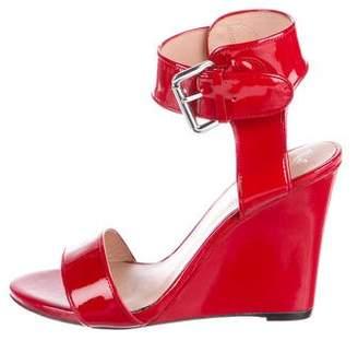 Alejandro Ingelmo Patent Ankle-Strap Sandals