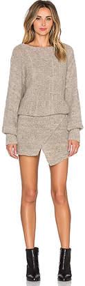 AYNI Lupuna Asymmetrical Sweater Dress